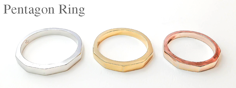Pentagon Ring Rui & Aguri Fine Jewelry