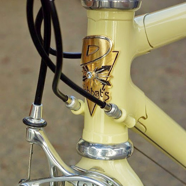 Theater motif bicycle head badge emblem by Rui & Aguri Fine Jewelry