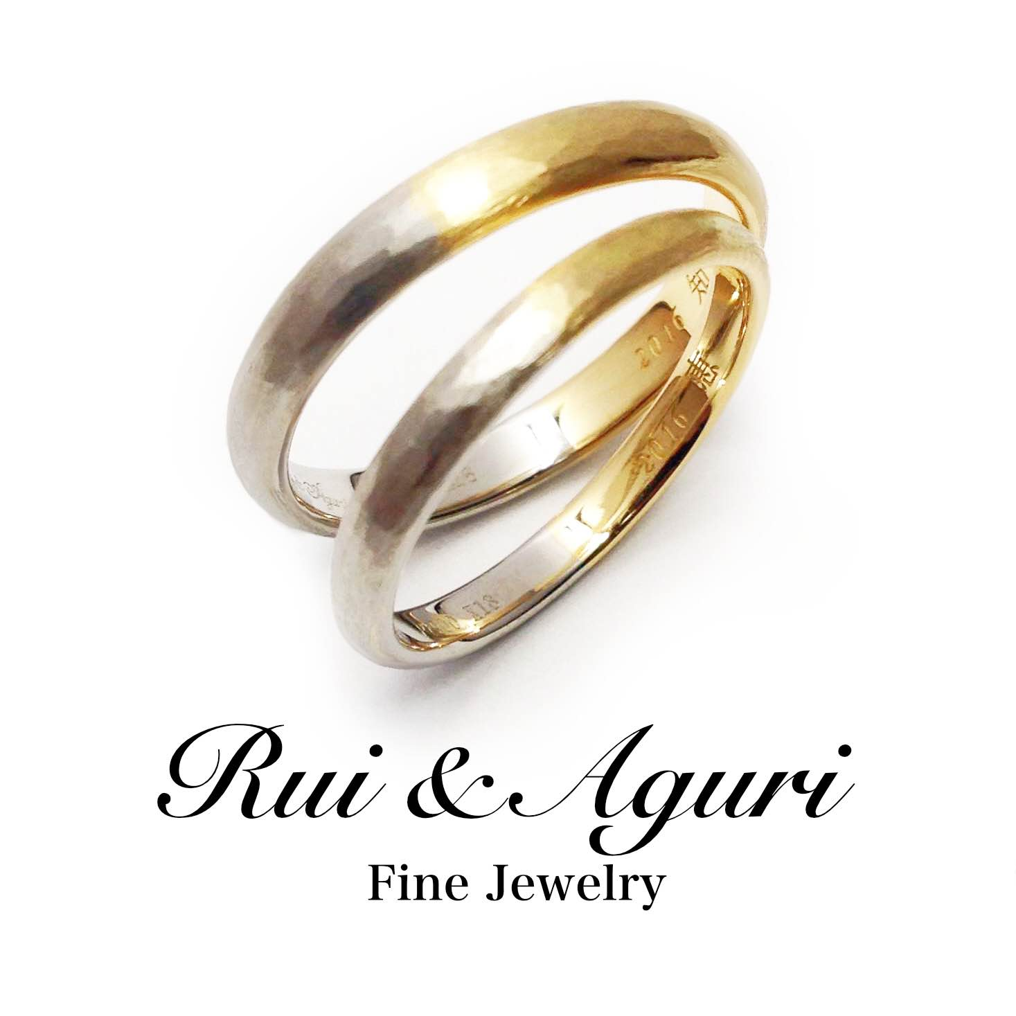 platinum gold wedding rings Rui & Aguri Fine Jewelry